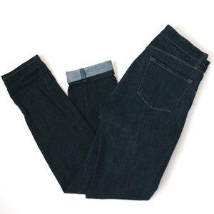 J Brand dark wash skinny leg jeans enigmatic